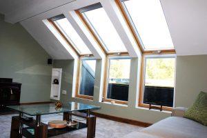 Specious loft angle view | Loft Converters